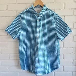 Denim & Flower gingham shirt